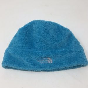 The North Face Turquoise Fleece Hat Youth M